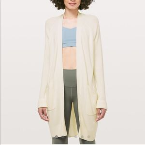 NEW Lululemon Still At Ease Wrap in Angel Wing